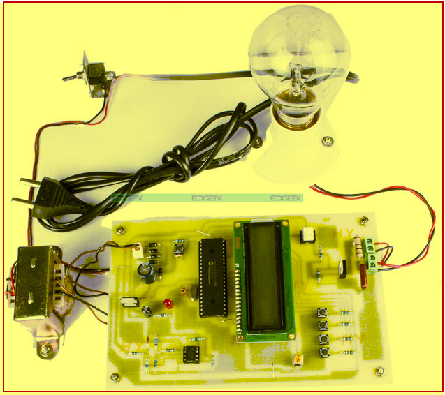 Industrial Power Control by Integral Cycle Switching without Generating Harmonics Project kit by edgefxkits.com