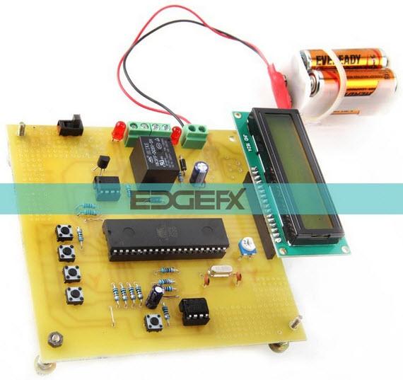 Programmable Digital Temperature Controller Circuit by Edgefxkits.com