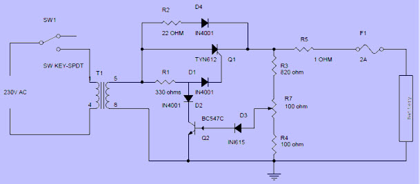 free electrical projects with circuits for engineering students rh elprocus com