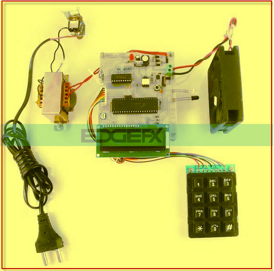 Energy Measurement System Conveyed over RF  Project Kit by edgefxkits.com