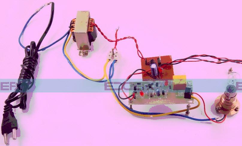 Video Activated Relay to Control the Load Project Kit