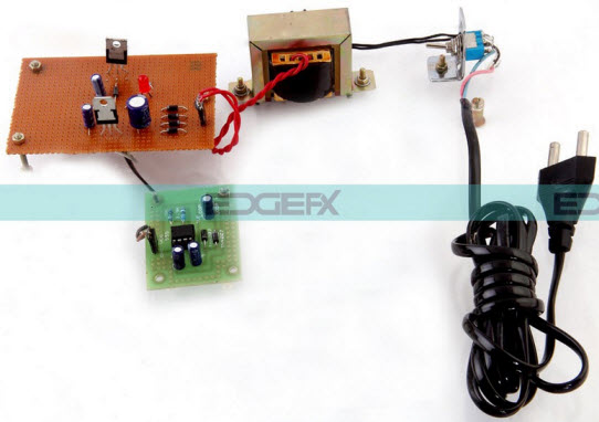 Voltage Doubler Circuit Using 555 Timer Project Kit by Edgefxkits.com