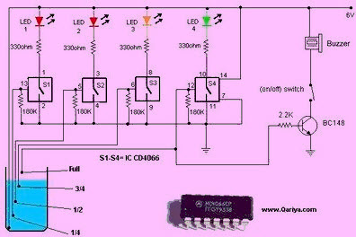 free electrical projects with circuits for engineering students, Circuit diagram