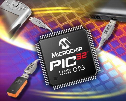PIC32 microcontroller
