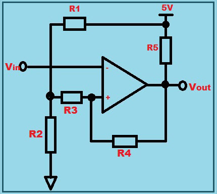 Op Amp as Comparator Circuit