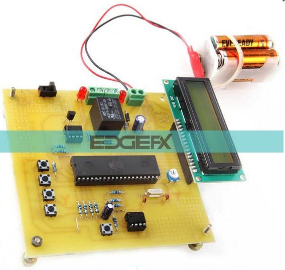 Programmable Digital Temperature Controller Project Kit By Edgefxkits.com