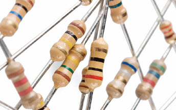 Resistors with Multiple Bands and Different Color Codes