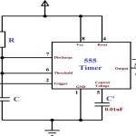 Monostable Multivibrator using 555 timer Circuit