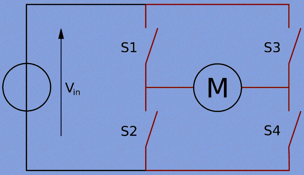 Phenomenal H Bridge Motor Control Circuit Using L293D Ic Wiring 101 Relewellnesstrialsorg