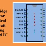 H Bridge Motor Control Circuit Using L293d IC
