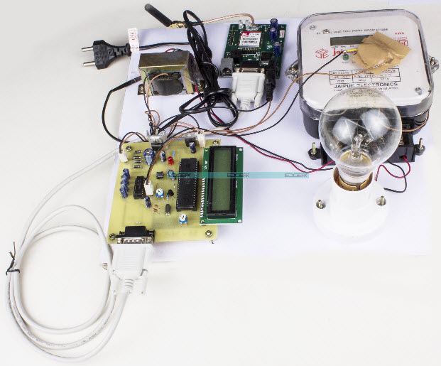 IOT Based Energy Meter Reading Through Internet by Edgefxkits.com