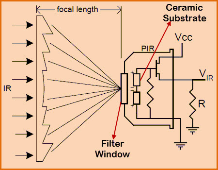 PIR Sensor Circuit