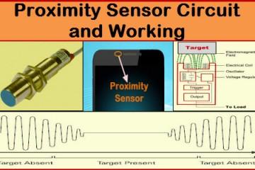 Proximity Sensor Circuit and Working