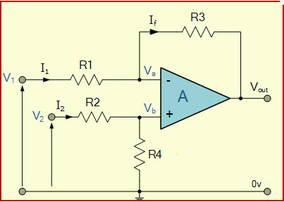 Strange Op Amp As A Differential Amplifier Circuit With Function Wiring 101 Capemaxxcnl