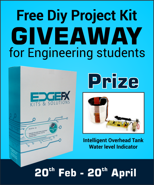 Free Electroncis DIY Project Giveaway for Elprocus Readers