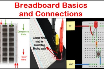 Breadboard Basics and Connections
