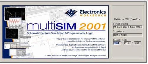 Multisim 2001