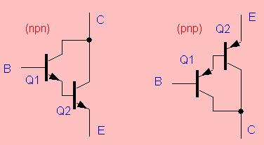 PNP and NPN Darlington Transistors
