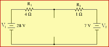Thevenins Theorem Practical Example Circuit after removing Load Resistance