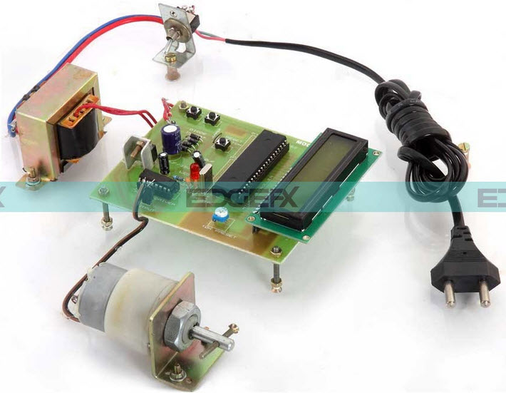 DC motor Interfacing with 8051 Microcontroller using L293D