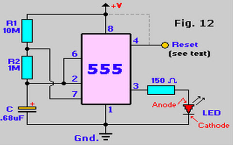 how to make a 555 timer oscillator