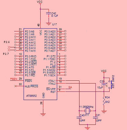 Interface I2C Bus-EEPROM with 8051 Microcontroller