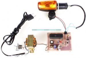 RFID based Ambulance Flashing Light Wireless Communication Project Kit