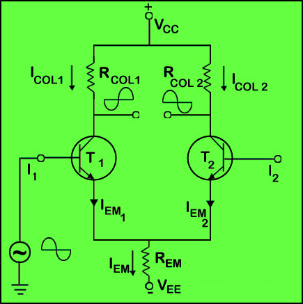Differential Amplifier Working