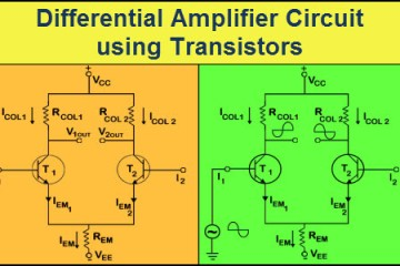 Differential Amplifier using Transistors Featured Image