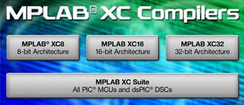 MPLAB XC8 Software