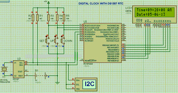 RTC Circuit Diagram