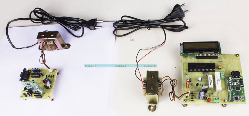 Solar Energy Measurement System Conveyed over RF using a PIC microcontroller by Edgefxkits.com