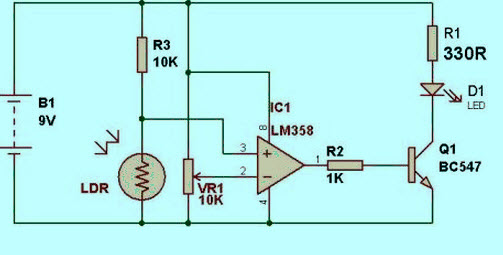 LM358 IC Pin Configuration and Applications