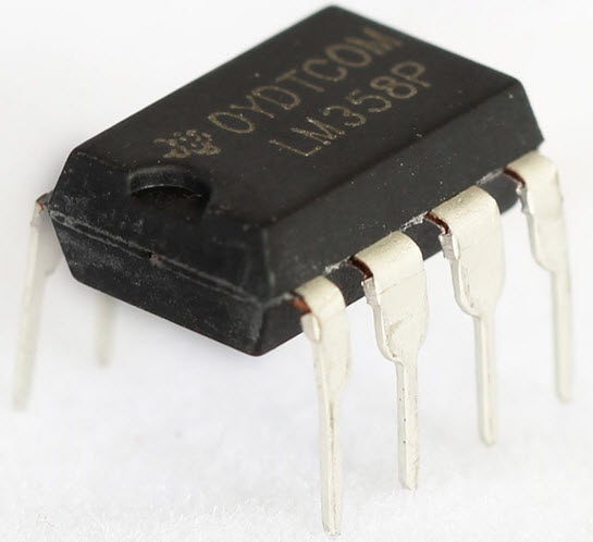 LM358 IC Chip