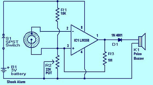 lm358 ic pin configuration and applications rh elprocus com lm358 circuit diagram lm358 pin layout