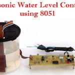 Ultrasonic Water Level Controller using 8051