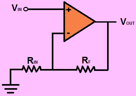 Non Inverting Op-Amplifier