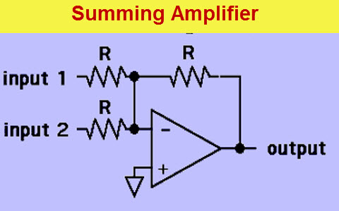 Summing Amplifier Circuit Diagram and Its Applications