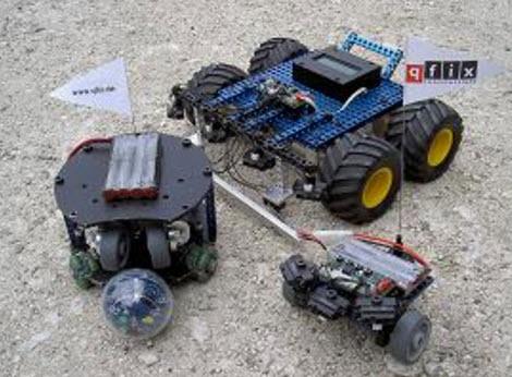 Qfix-Soccer Robot