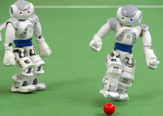 Soccer Playing Robot