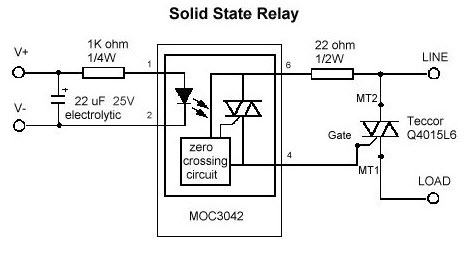 Solid State Relays solid state relays three phase solid state relay with zvs solid state relay diagram at virtualis.co
