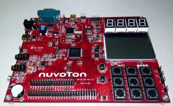 NUC140 Board
