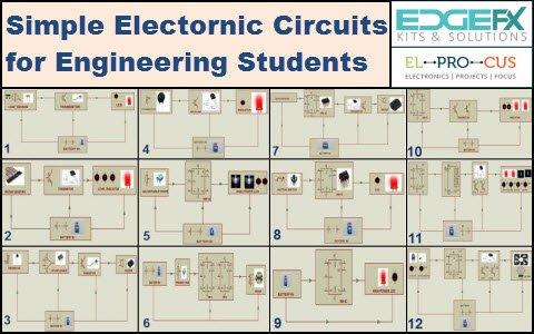 Electronic Mini Projects Circuits – Simple Electronic Circuits