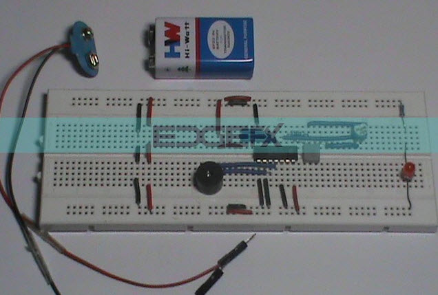 Breadboard based Simple Electronic Projects for Behinners