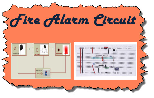 Fire Alarm Circuit steps to build simple fire alarm circuit using thermistor fire alarm circuit diagram at mifinder.co