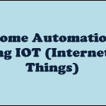Home Automation using IOT (Internet Of Things)