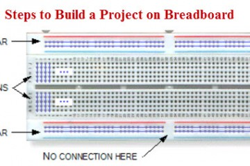Steps to Build a Project on Breadboard