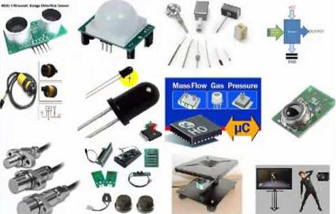 Various types of Sensors