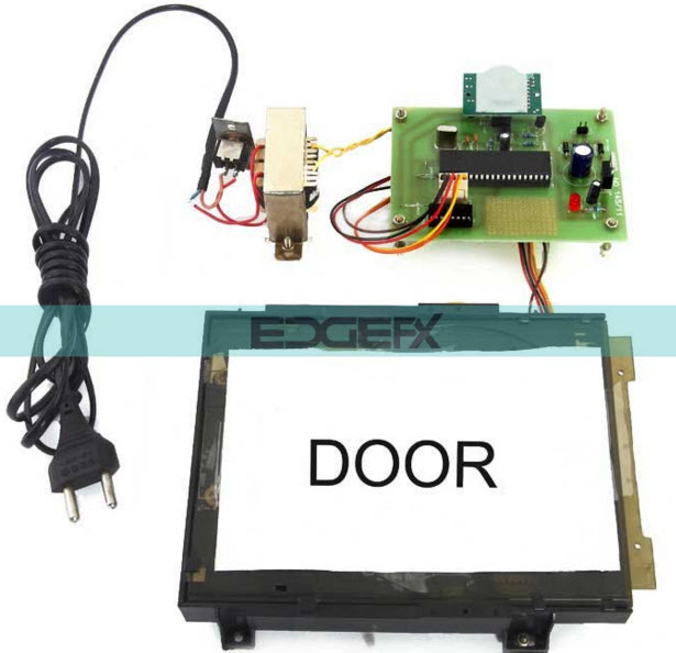 automatic door opening system using pir sensor rh elprocus com