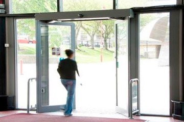 Automatic Door Opening System
